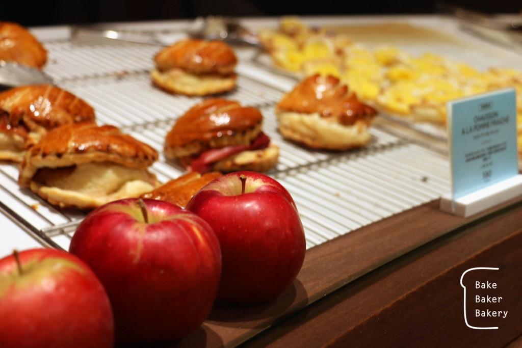青森県産りんごをつかった秋冬限定のショソン・ア・ラ・ポム・フレッシュ