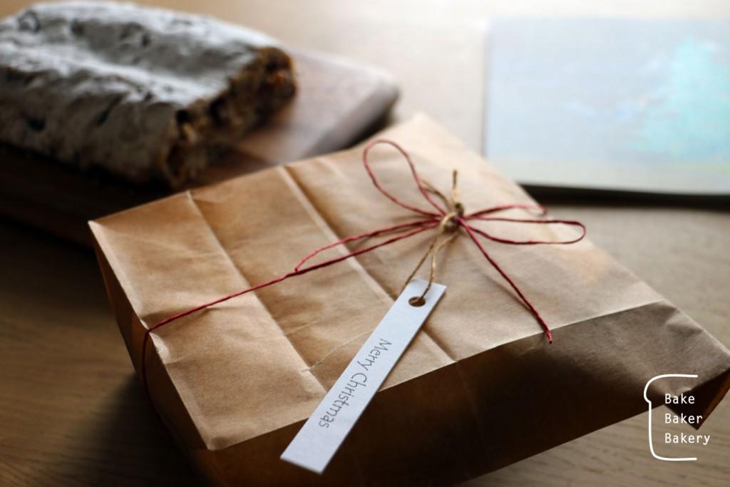 シュトレンをクリスマスプレゼントに